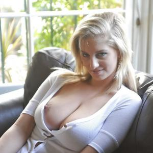 Blond en geil